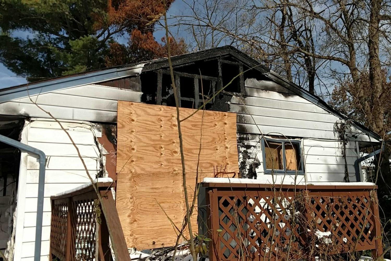 fire damage claybrook