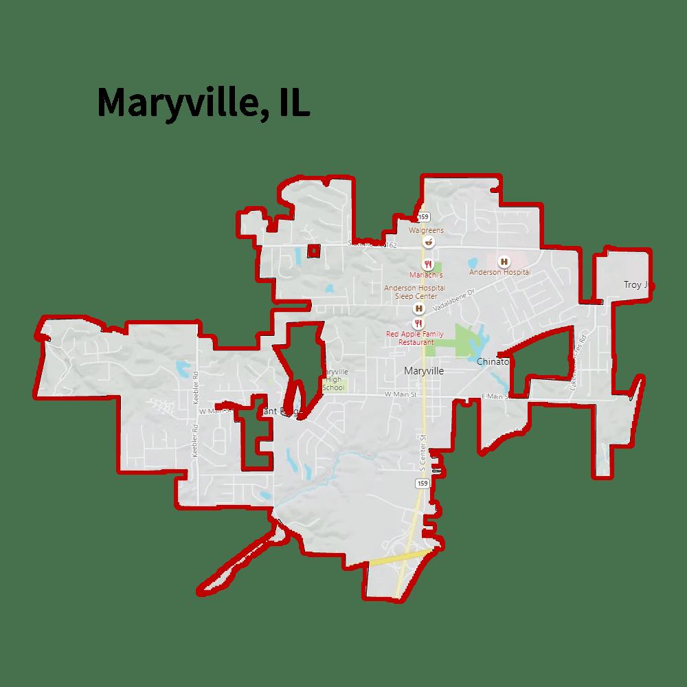 water damage restoration maryville il