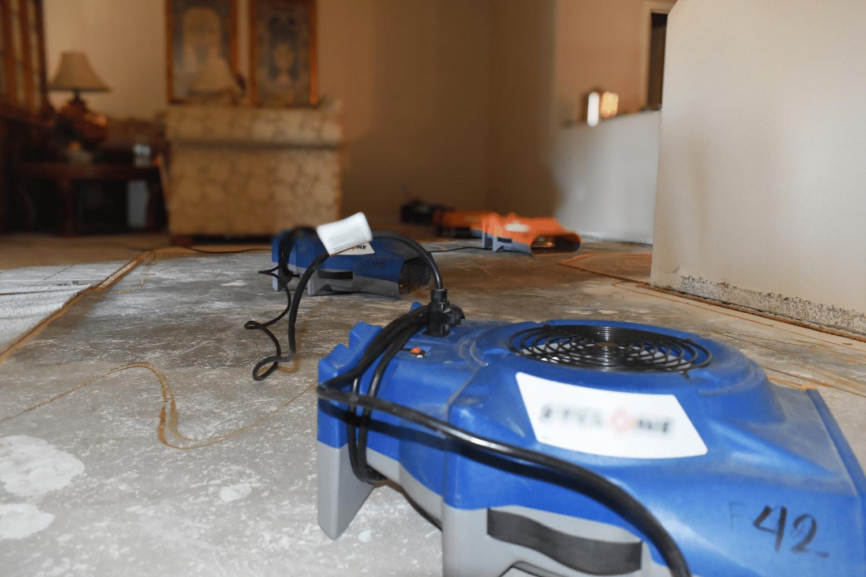 emergency water cleanup